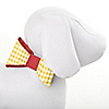 Summer BBQ - Hot Diggity Dog - Dog Party Bow - 8 ct