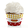 Summer BBQ - Hot Diggity Dog - Dog Party Cupcake Wrappers
