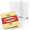 Summer BBQ - Hot Diggity Dog - Dog Party Thank You Cards - 8 ct
