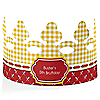Summer BBQ - Hot Diggity Dog - Personalized Dog Party Crown - 8 ct