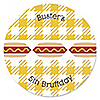 Summer BBQ - Hot Diggity Dog - Personalized Dog Party Sticker Labels - 24 ct