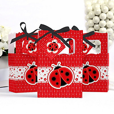 ladybug party favor box