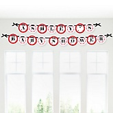 Modern Ladybug  - Personalized Baby Shower Garland Banner