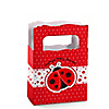 Modern Ladybug - Personalized Baby Shower Mini Favor Boxes