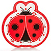 Modern Ladybug - Baby Shower Dinner Plates - 8 ct
