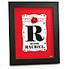 Modern Ladybug - Personalized Baby Shower Wall Art Gift