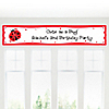Modern Ladybug - Personalized Birthday Party Banners