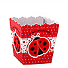 Modern Ladybug - Personalized Birthday Party Candy Boxes