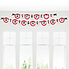 Modern Ladybug - Personalized Birthday Party Garland Letter Banner