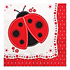 Modern Ladybug - Birthday Party Luncheon Napkins - 16 ct