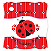 Modern Ladybug - Personalized Birthday Party Tags - 20 ct