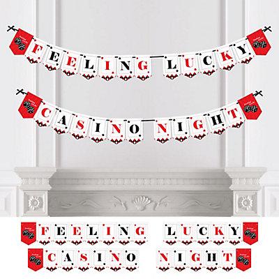 Personalize | Decoration | Casino | Banner | Vegas | Party | Las