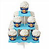 Lion Boy - Baby Shower Cupcake Stand and 13 Cupcake Wrappers
