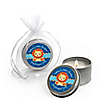 Lion Boy - Personalized Baby Shower Candle Tin Favors