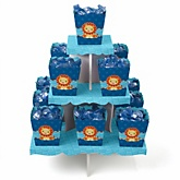 Lion Boy - Baby Shower Candy Stand & 13 Fill Your Own Candy Boxes