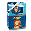 Lion Boy - Personalized Baby Shower Favor Boxes