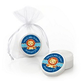Lion Boy - Personalized Baby Shower Lip Balm Favors