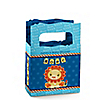 Lion Boy - Personalized Baby Shower Mini Favor Boxes
