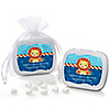 Lion Boy - Personalized Baby Shower Mint Tin Favors