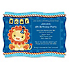 Lion Boy - Personalized Birthday Party Invitations