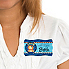 Lion Boy - Personalized Birthday Party Name Tag Stickers - 8 ct