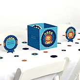 Lion Boy - Baby Shower Table Decorating Kit