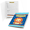 Lion Boy - Fill In Invitations - 8 ct