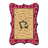Little Cowboy - Unique Alternative Guest Book - Baby Shower or Birthday Party Signature Mat