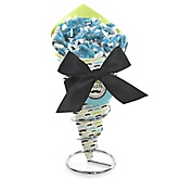 Dashing Little Man Mustache Party - Baby Shower Candy Bouquets with Frooties