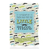 Dashing Little Man Mustache Party - Personalized Baby Shower Thank You Cards
