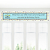 Dashing Little Man Mustache Party - Personalized Birthday Party Banners