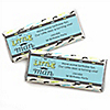 Dashing Little Man Mustache Party - Personalized Birthday Party Candy Bar Wrapper Favors