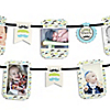 Dashing Little Man Mustache Party - Birthday Party Photo Garland Banners