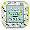Dashing Little Man Mustache Party - Birthday Party Dinner Plates - 8 ct
