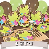 Luau - 16 Person Baby Shower Kit