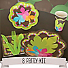 Luau - 8 Person Birthday Party Kit