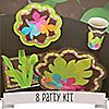 Luau - 8 Person Birthday Party Kit