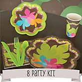 Luau - 8 Person Baby Shower Kit
