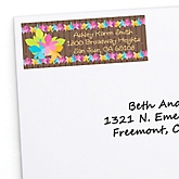 Luau - Personalized Baby Shower Return Address Labels - 30 ct