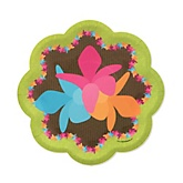 Luau - Baby Shower Dessert Plates - 8 Pack