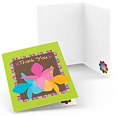 Luau - Baby Shower Thank You Cards - Set of  8