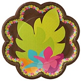 Luau - Baby Shower Dinner Plates - 8 Pack