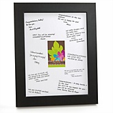Luau - Personalized Baby Shower Print with Signature Mat