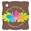 Luau - Personalized Baby Shower Tags - 20 ct