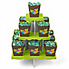 Luau - Birthday Party Candy Stand and 13 Candy Boxes