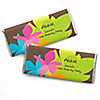 Luau - Personalized Birthday Party Candy Bar Wrapper Favors