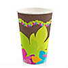 Luau - Birthday Party Hot/Cold Cups - 8 ct