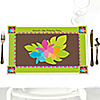 Luau - Personalized Birthday Party Placemats