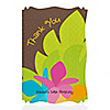 Luau - Personalized Birthday Party Thank You Cards
