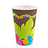 Luau - Bridal Shower Hot/Cold Cups - 8 ct